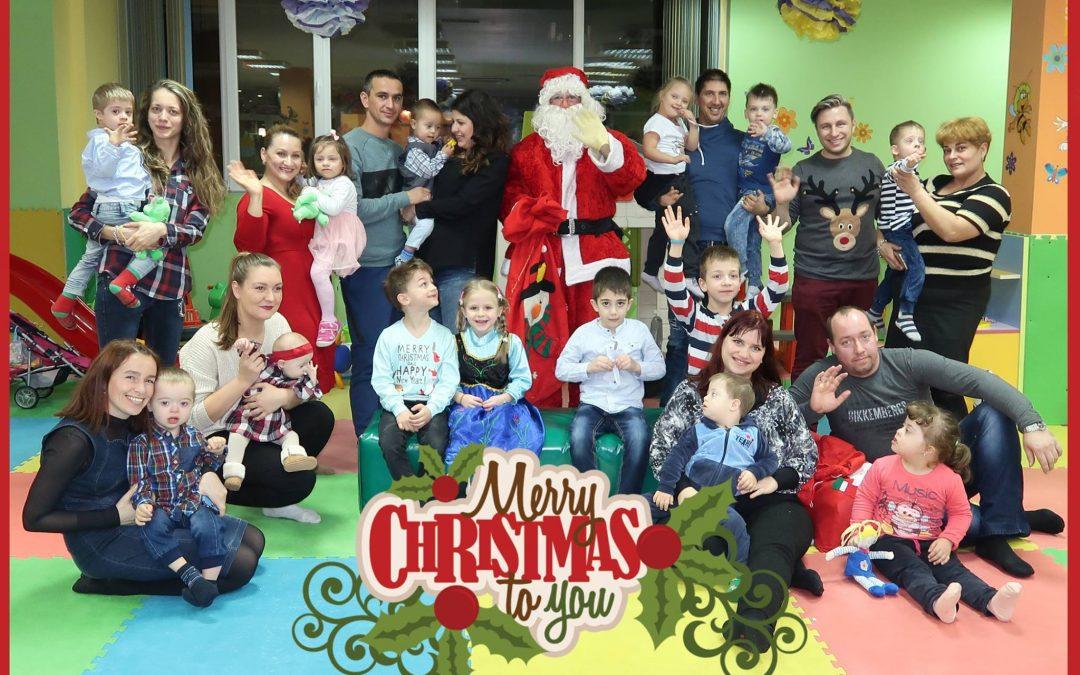 Коледно парти за деца със синдром на Даун