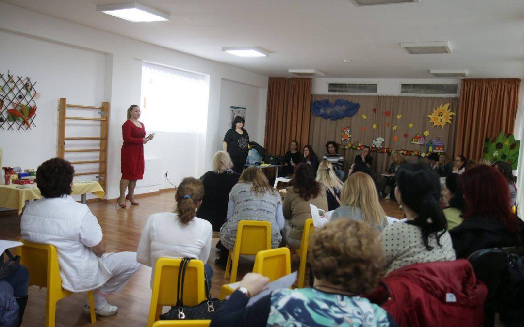 Обучения за педагогически и непедагогически състави в ясли и детски градини