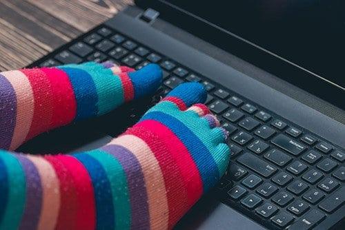 Предизвикателство: Снимайте се с шарени чорапи